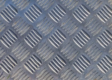 Background Patterned Brushed Metal. Royalty Free Stock Photo