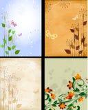 Background patterned set Royalty Free Stock Image