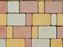 Background from paving slabs Stock Photography