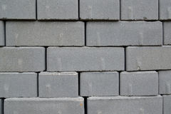 Background from the paving slabs added in a stack.  royalty free stock photos