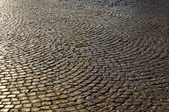 Background paving stones Royalty Free Stock Photos