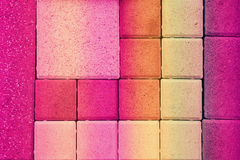 Background of paving tiles Stock Photography