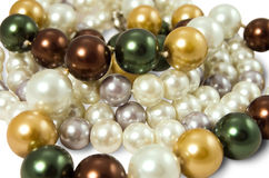 Background of the pearl Stock Photography