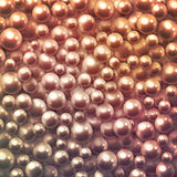 Background with pearls Royalty Free Stock Photography