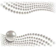 Background of pearls Royalty Free Stock Images