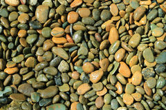 Background pebble stones. Detail of background pebble stones Royalty Free Stock Photos