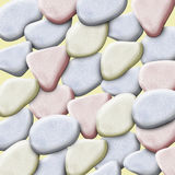 Background of pebbles Stock Images