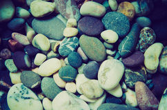 Background of pebbles Stock Photo