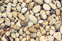 Background of pebbles Royalty Free Stock Photos