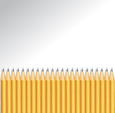 Background with pencils Stock Images