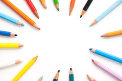 Background with pencils Royalty Free Stock Photo