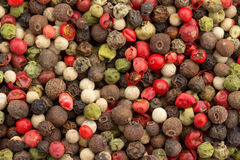 Background of pepper mix Stock Photo