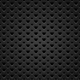 Background perforated shape heart Stock Images