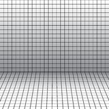 Background with a perspective grid. Royalty Free Stock Images