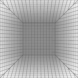 Background with a perspective grid. Royalty Free Stock Photo