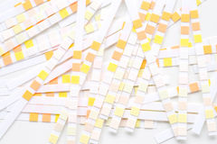 Background with ph paper royalty free stock photo