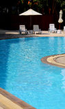 Background photo of a beautiful water pool Stock Photo