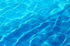 Background photo of a beautiful water pool Royalty Free Stock Photography