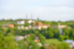 Background photo of blur colors of housing estate Stock Images
