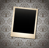 Background. Photo frame on vintage background Royalty Free Stock Images