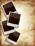 Background with photo frames Royalty Free Stock Image
