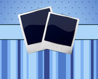 Background with photo frames Royalty Free Stock Photography