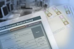 Free Background Photo Showing Medical Record Changing From Paperwork Stock Images - 125779624