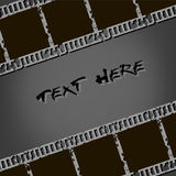 Background from photographic films. In retro style. Vector illustration Stock Images