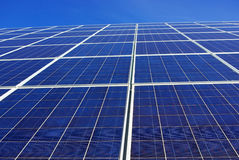 Background of photovoltaic cells. Stock Photography