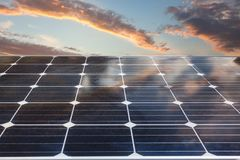 Background of photovoltaic modules for renewable energy. Background of photovoltaic modules for renewable energy Stock Photos