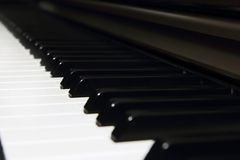 Background of piano key Royalty Free Stock Photos