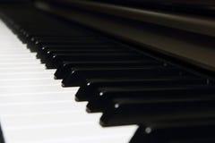 Background of piano key Royalty Free Stock Photos