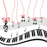 Background - piano music Royalty Free Stock Photo