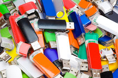 USB flash memory Royalty Free Stock Images