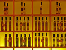 Background Picture of Grids & Bottles Stock Images