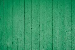 Background picture made of old green wood boards royalty free stock image