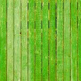 Background picture made of old green wood boards Stock Photography