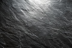 Background of a piece of black stone closeup. Horizontal Stock Image
