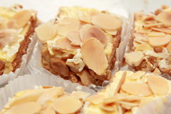 Background of pieces of cake Royalty Free Stock Photo