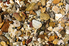Background of a pile of pebbles. Koh Samet‎ at Rayong,Thailand Stock Photos