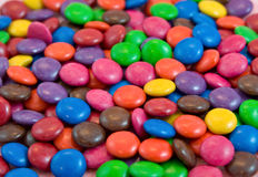 Background pile of smarties ch Stock Images