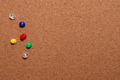 Background pin board Royalty Free Stock Photos