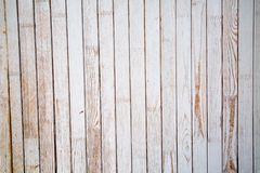 Background of pine planks painted with pale blue paint with knots. stock photos