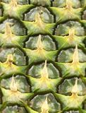 Background of pineapple skin. Macro. Stock Photo
