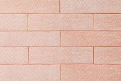 Background of pink chewing gum like a bricks stock images