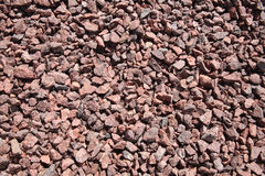 Background of pink crushed stones Royalty Free Stock Photo