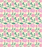 Background with pink flowers Stock Photography