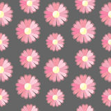 Background with Pink Flowers. Seamless texture Royalty Free Stock Photography