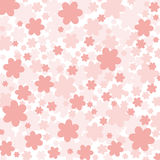 Background of pink flowers. Vector background of pink flowers Stock Image