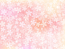 Background of pink flowers. Vector illustration.Original paintings and drawing vector illustration